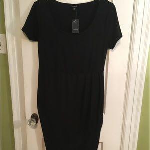 Torrid black tulip jersey dress size00
